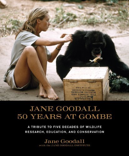 Jane Goodall: 50 Years At Gombe [Full Leather Signed By Jane Goodall]