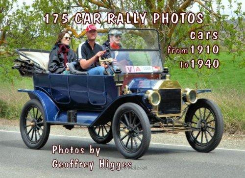 175 Car Rally Photos: cars 1910 to 1940 (Volume 1) ebook
