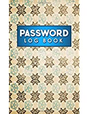Password Log Book: Address Books For Passwords, Password Journal Alphabetical, Login Password Book, Password Organizer Book, Vintage/Aged Cover