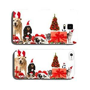 Christmas Animals cell phone cover case Samsung S6