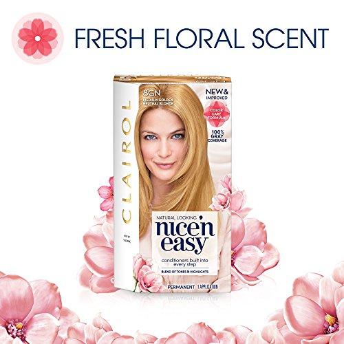 Clairol Nice N Easy 8gn Medium Golden Sunlit Blonde