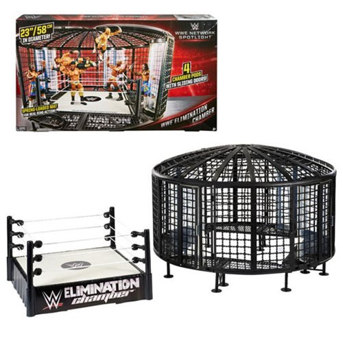 WWE Elimination Chamber Playset - (Elimination Chamber Toy)