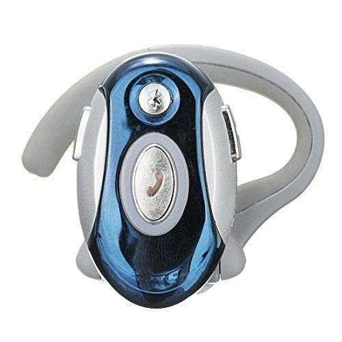 SODIAL(R) Business Handsfree Mono Earphone Wireless Bluetooth Headset For Motorola HTC, Blue