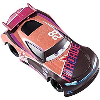 Amazon Com Disney Pixar Cars 3 Tim Treadless Nitroade Die Cast
