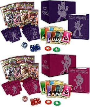 (BOTH Pokemon XY8 Breakthrough ELITE TRAINER Set Boxes Mega Mewtwo X & Y!! - TCG English Card Game)