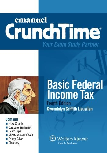 Crunchtime-Basic-Federal-Income-Tax-Fourth-Edition
