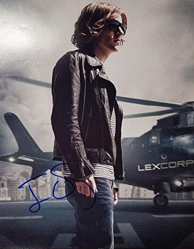 Eisenberg Signed (Jesse Eisenberg - Batman V Superman - Signed 11x14 Photograph in Mint Condition COA PROOF)