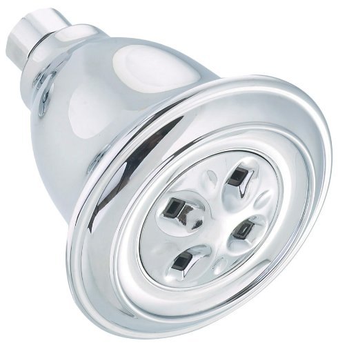 Alsons 658-C-PK Water Amplifying Shower Head, Chrome