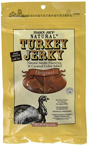 Trader Joe's Natural Turkey Jerky - Original (2 - 4 Ounce Bags) by trader joe's