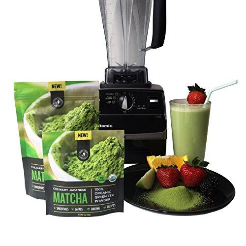 Jade Leaf - Organic Japanese Matcha Green Tea Powder - USDA Certified, Authentic Japanese Origin - Classic Culinary Grade (Smoothies, Lattes, Baking, Recipes) - Antioxidants, Energy [100g Value Size] by Jade Leaf Matcha (Image #5)