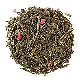 The Spice Lab No. 258 – Bohemian Raspberry Premium Gourmet Green Tea, 4 oz Resealable Bag – Improves Brain Function, Full of Health Benefits and antioxidants