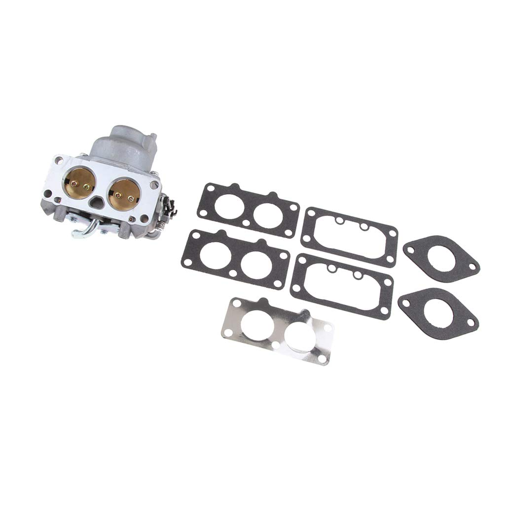 Flameer Carburetor and Gasket Replacement Assembly Fits for Kawasaki FX751V Chainsaw 15004-7045, 15004-0867