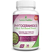 Phytoceramides Skin & Hair Renewal Formula, Ceramide-PCD® from Rice with Vitamins A, C, D, & E, 40 mg/Serving, 30 Capsules