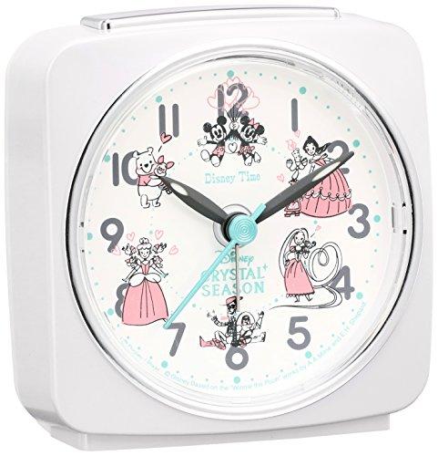 Click to view larger image SEIKO CLOCK FD818W Disney Alarm Clock Princess Mickey Winnie the Pooh by Seiko