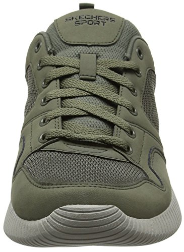 Skechers Mens Depth Charge Eaddy Fashion Sneakers Olive D (m) Us Olive