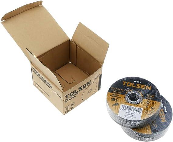 Tolsen - Disco de Cortar de Amoladora para Acero Inoxidable 115 x ...