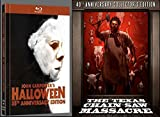 The Texas Chain Saw Massacre & Halloween 35th - 40th Anniversary Collector's Edition [Blu-ray/DVD Combo]