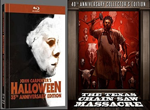 The Texas Chain Saw Massacre & Halloween 35th - 40th Anniversary Collector's Edition [Blu-ray/DVD -