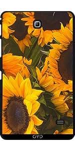Funda para Samsung Galaxy Tab 4 (7 pulgadas) - Girasoles by Blooming Vine Design