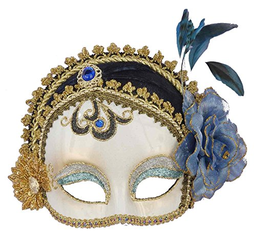[Mardi Gras Mask Ladies Half Mask Venetian Mask Fancy Dress Mask] (Easy Guy Devil Costume)