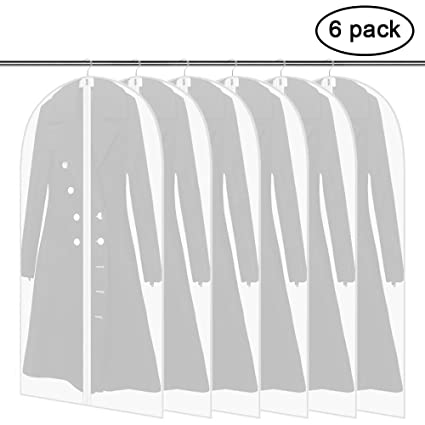 9abc2605fac3 Amazon.com: Ankua Garment Bag 6 Pack 24'' x 54'', Dust Cover ...