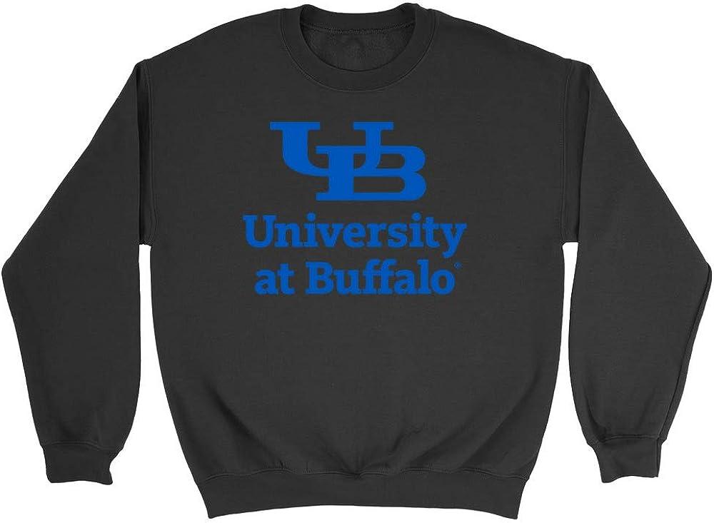Official NCAA University at Buffalo Bulls - PPBUF04 Mens/Womens Boyfriend Sweatshirt