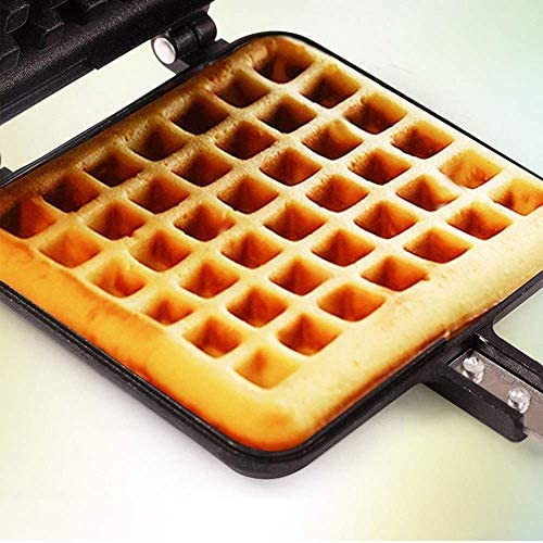 Rechthoek Shape Waffle bakblik, Non-Stick Traditional Belgian Waffle Maker for Keuken Plat Baking Tool, Keuken Bakken en mengen for koken Set vanaf6 fangkai77