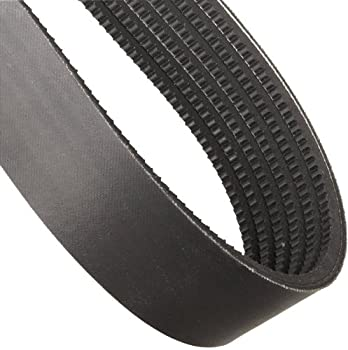 """Continental ContiTech HY-T Wedge Torque Team V-Belt, 6/3VX600, Banded & Cogged, 6 Rib, 2.25"""" Width, 0.31"""" Height, 60"""" Nominal Outside Length"""