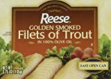 Reese Golden Smoked Trout, 3.75 Ounce