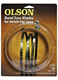 "Olson 55356 Band Saw Blade 56-1/8"" Long x 1/4"" Wide .014"" Thick 6 TPI -  OLSON SAW"