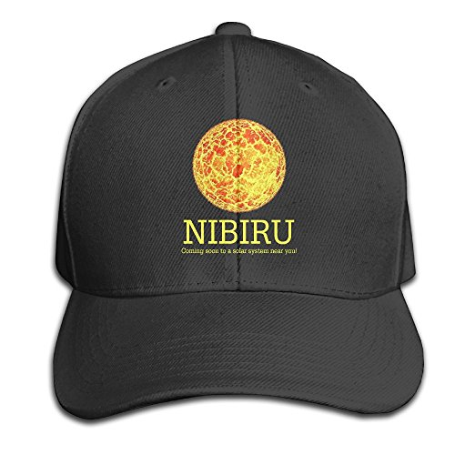 Unisex Adjustable Nibiru Conspiracy Planet X Cotton Pure Color Baseball Hats