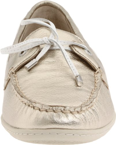 Sperry Topp-pages Dame Montauk Moccasin Platina