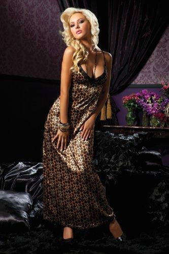Leopard Print Gown