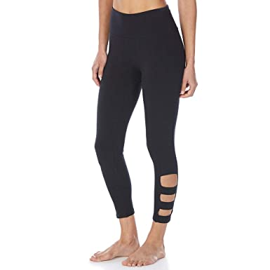 4d61d858b3405 BALLY Women's Stella Cutout Mid-Calf Leggings at Amazon Women's Clothing  store: