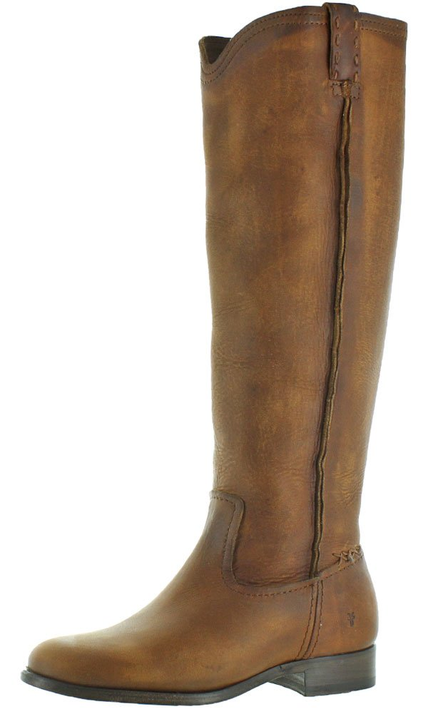 FRYE Women's Cara Tall Leather Slouch Boot B01AAA9LP4 6 B(M) US|Cognac Extended
