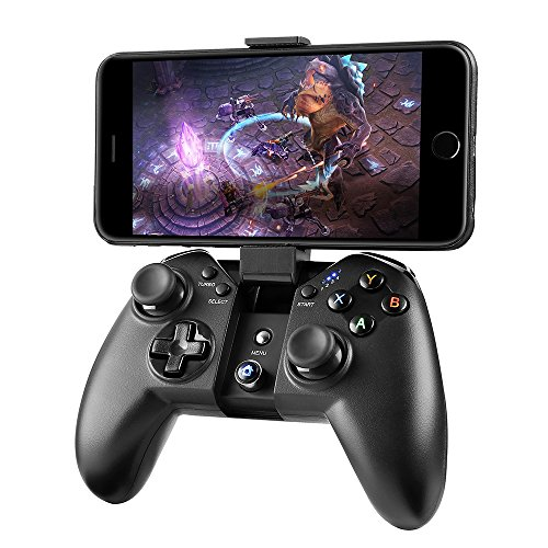 Game Controller, MAD GIGA Wireless Game Controller Bluetooth Gamepad Remote for PC (Windows XP/7/8/8.1/10), PS3, Android, Vista, Phone, TV Box Portable Gaming Handle Review