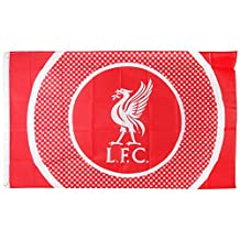 Liverpool Football Club Official Soccer Gift 5x3ft Body Flag Red White Crest