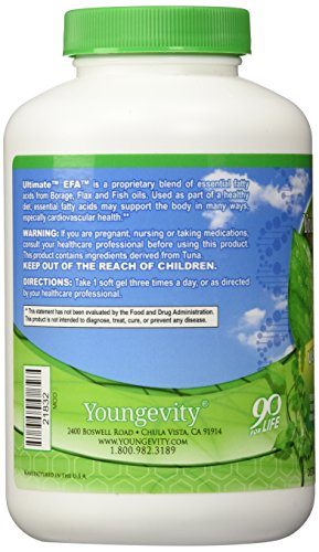 ULTIMATE EFA - 180 SOFTGELS by Youngevity (Image #6)