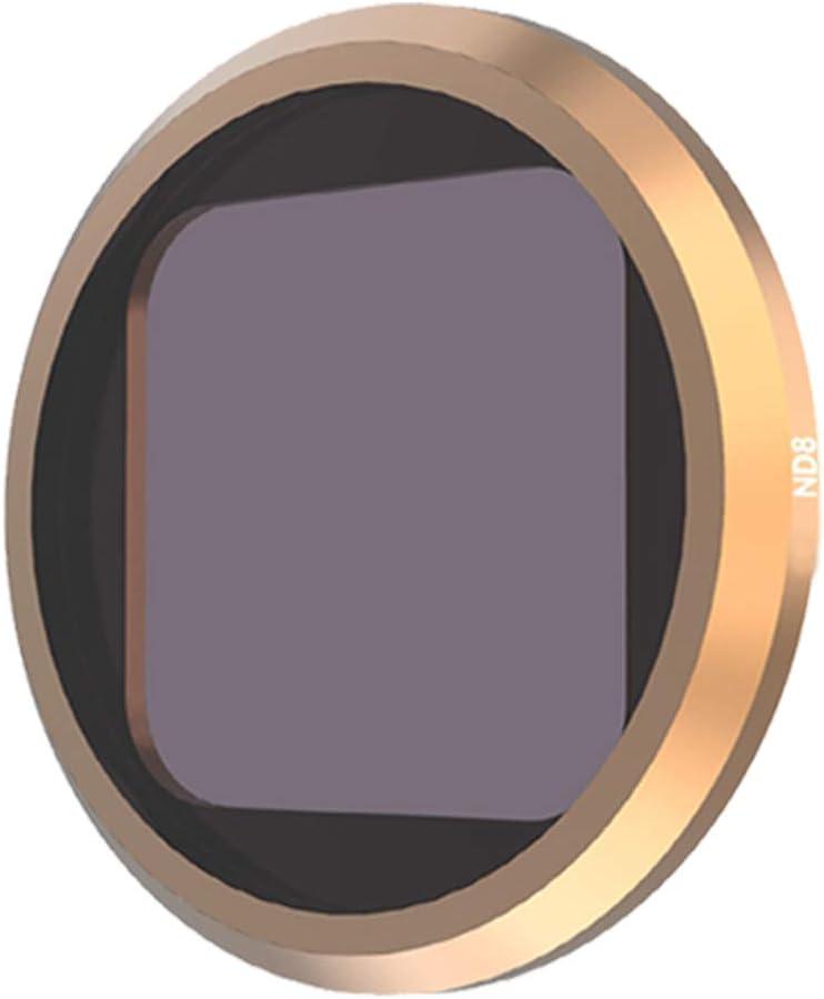 Neutral Density Lens Filter Kit for GoPro Hero 8 Black Camera Lens Accessories ND8 ND16 ND32 Dive Filter for GoPro Hero 8 Black,3Pack ND8,ND16,ND32