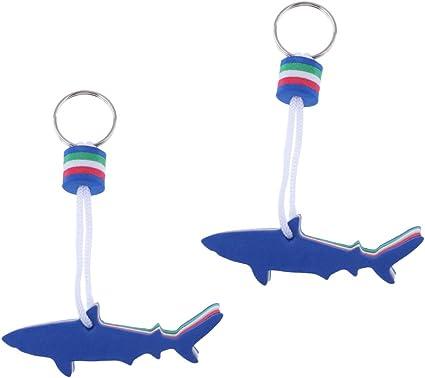 2 Stück Bootsschlüssel Schwimmender Schlüsselanhänger schwimmend