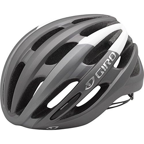 Giro Foray MIPS Road Cycling Helmet Matte Titanium/White Small (51-55 cm)
