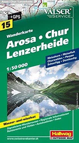 Arosa Chur / Lenzerheide: HAL.WK.15 (Wanderkarte)