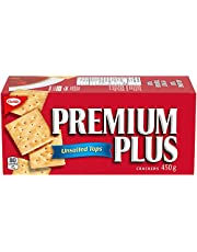 PREMIUM PLUS Unsalted Tops Crackers 450g, Thanksgiving Crackers