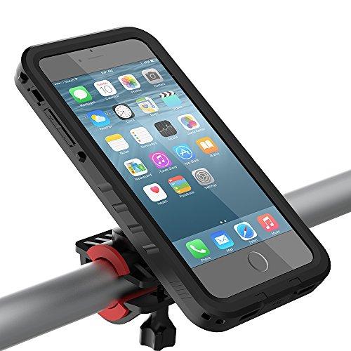 [해외]자전거 마운트 & amp; /Bike Mount & Waterproof Case for iPhone 7 Plus, TORUBIA One-button Released Adjustable 360 Degree