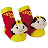 Wonder Woman itty bittys Baby Rattle Socks Baby Clothes Superheroes