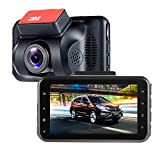 Car Camera Recorder,ViiVor 3.0 inch LCD Full HD 1080P 140 Degeree Car DVR Dash Cam with Motion Detection Parking Guard G-Sensor and Loop Recording