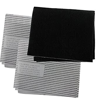 Spares2go Cooker Hood Carbon Grease Filter Kit For Cata Kitchen Extractor Fan Vent