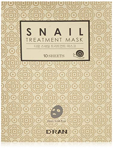 Foglia Di Bambu Remix.D Ran Korean Snail Mask 10 Masks Award Winning K Beauty Potent Ethically Harvested Snail Filtrate Silkworm Cocoon Extract Proven To Enhance