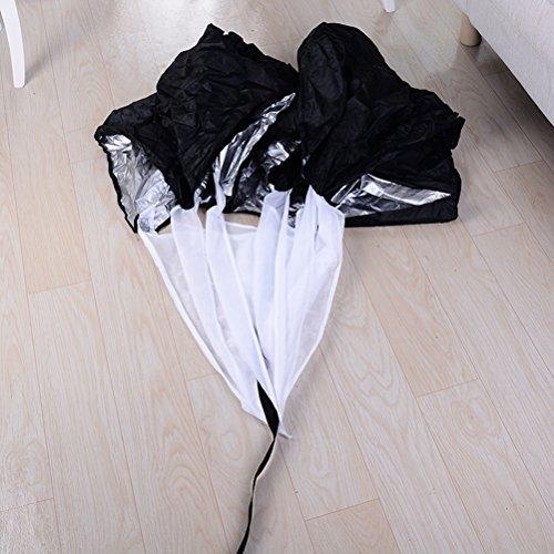 WINOMO Paracaídas paracaídas Paracaídas Paracaídas con correa ajustable para correr el sprint