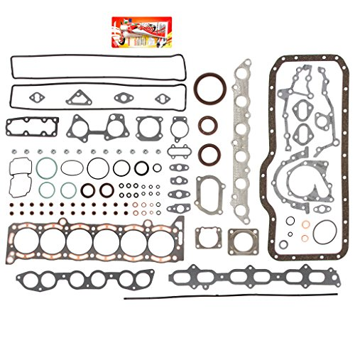- Fits 86-93 3.0 L Toyota Supra Turbo 7MGTE Full Gasket Set